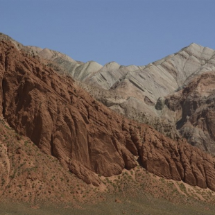 Colourful hills, Kyrgyzstan