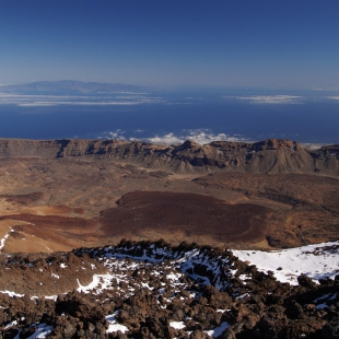 Teide summit view