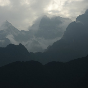 Yulong Shan dawn