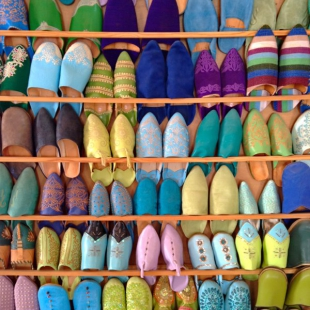 Market shoes, Taroudant