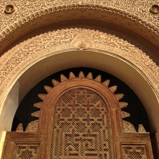 Intricate doorway